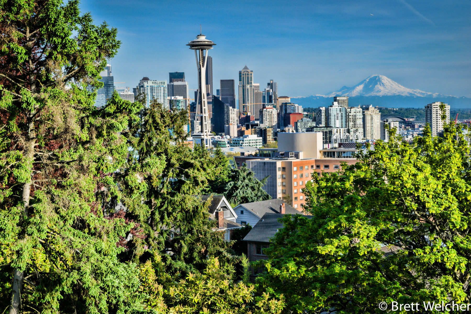 "Seattle is an exciting urban city surrounded by unmatched natural beauty. It was nicknamed ""The Emerald City"" by tourism officials in the mid-1980s, mostly due to the lush, green forests of Washington and the more than 6,000 acres of parks within the city"