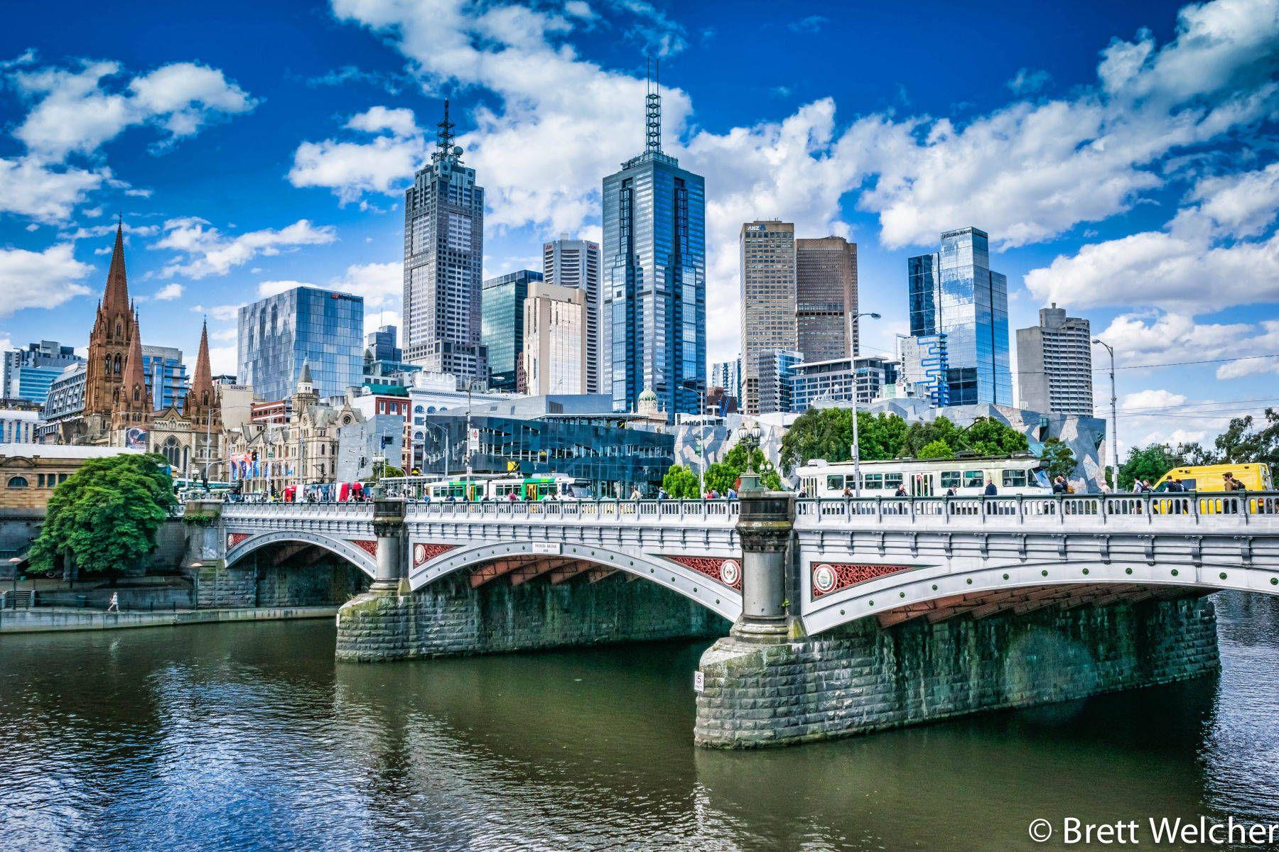 Melbourne Skyline - Melbourne, Victoria