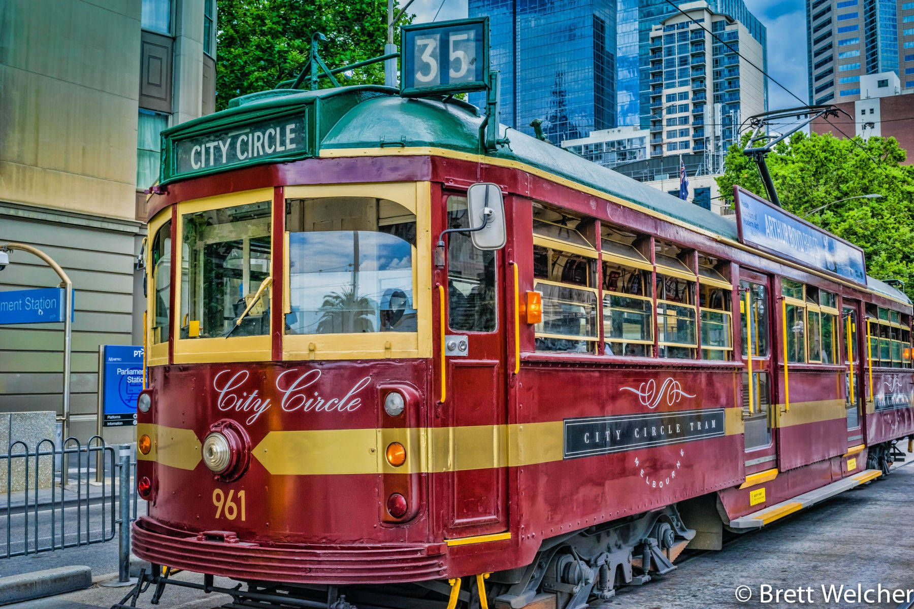 City Circle Tram - Melbourne, Victoria