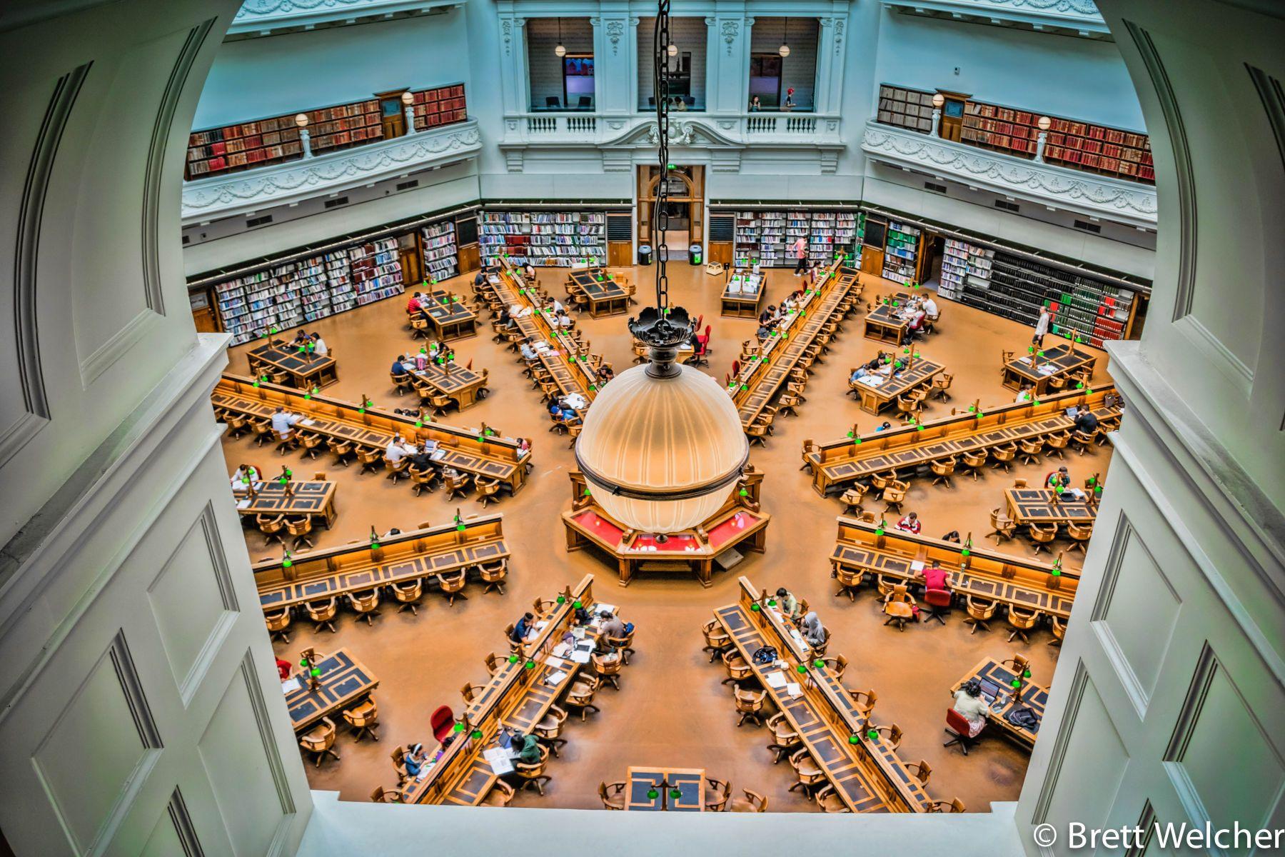 Melbourne Public Library - Melbourne, Victoria
