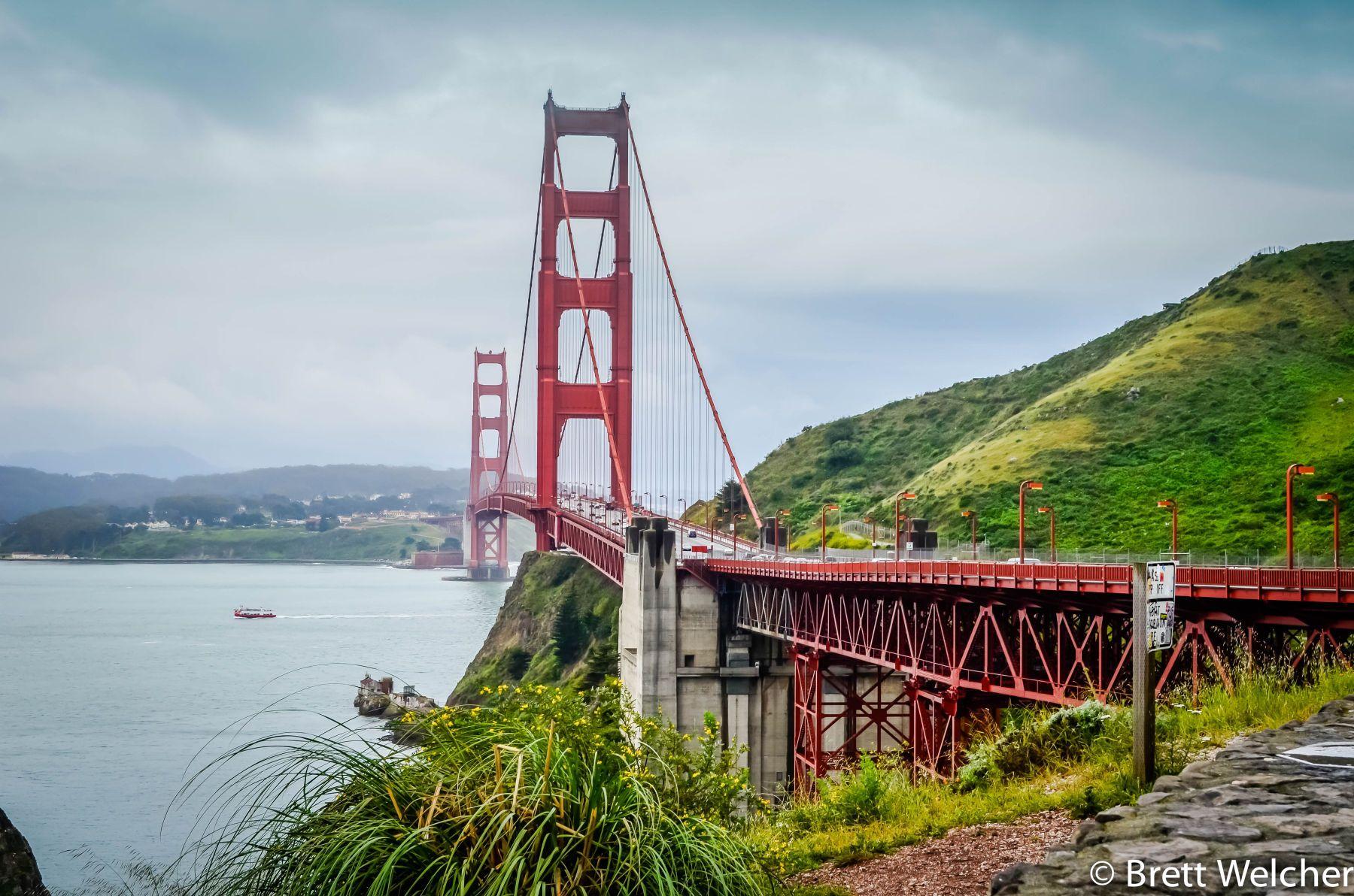 Golden Gate Bridge - San Francisco, Califronia