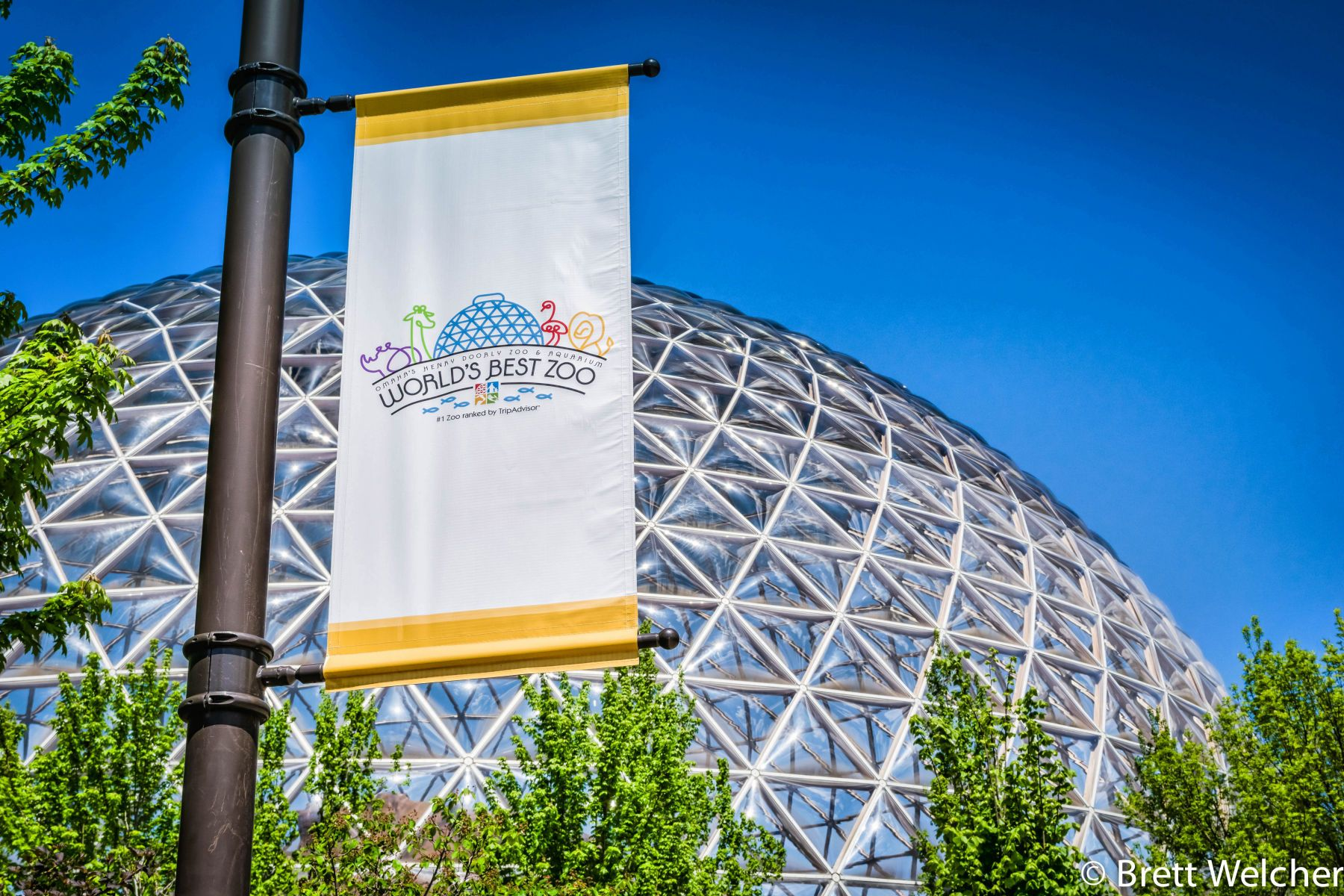 Omaha's Henry Doorly Zoo and Aquarium is ranked the #1 zoo in the country by TripAdvisor. Visitors can step inside the world's largest indoor desert and one of North America's largest indoor rainforests. Other world-class exhibits include the Scott Aquariu