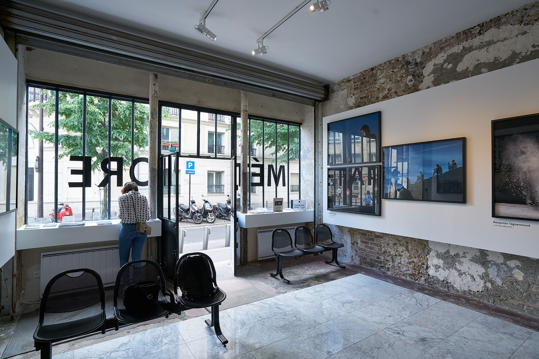 Collective exhibition with Adobe at the Fisheye Gallery in Paris (2017)
