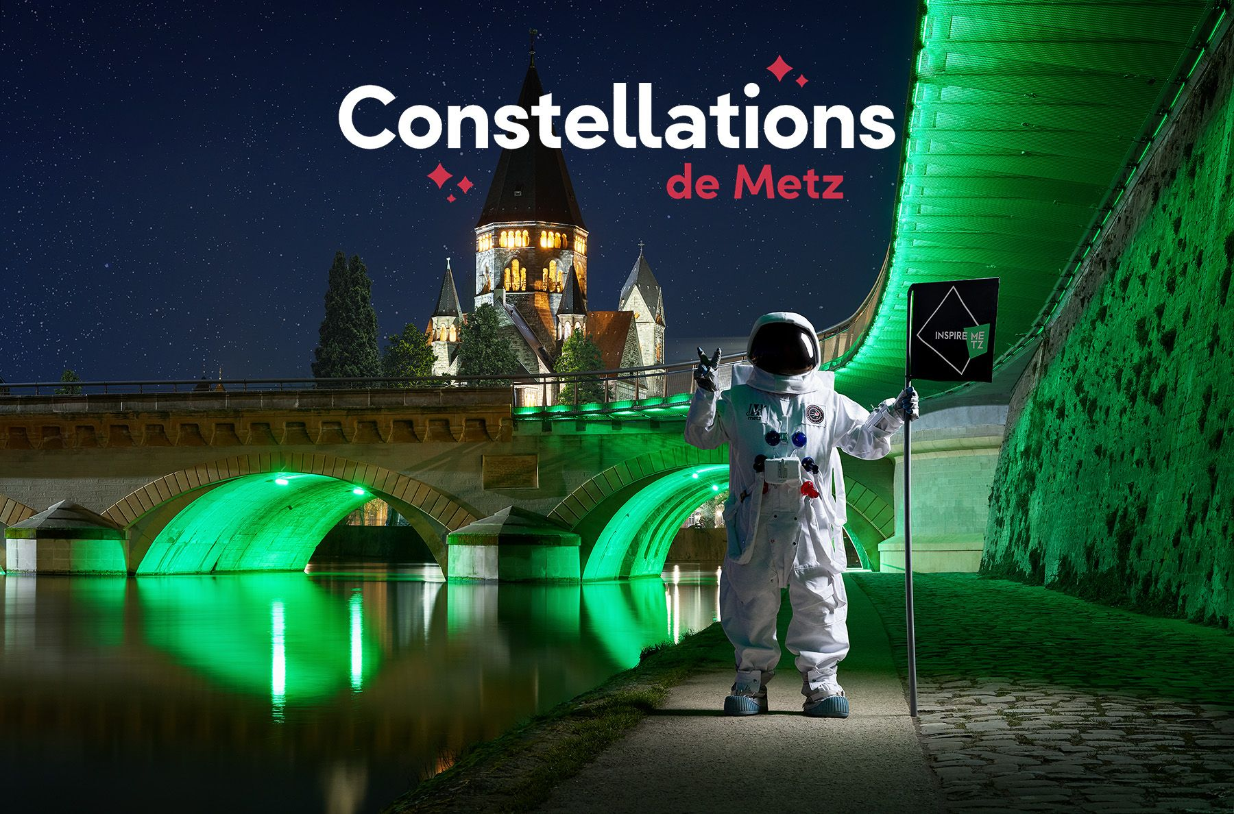 "Campaign for the cultural event ""Constellations de Metz"""