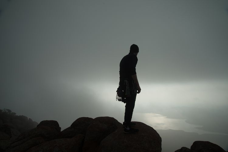 Mt Scott Climber