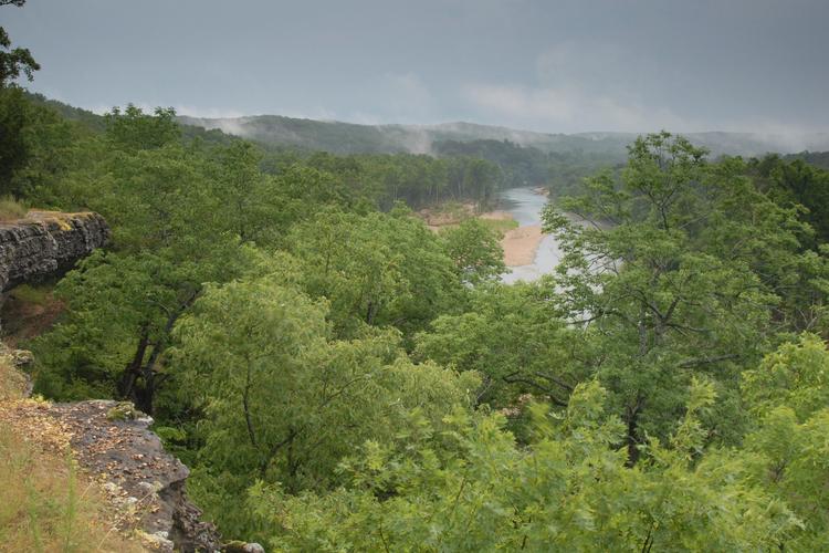 Goat's Bluff Illinois River