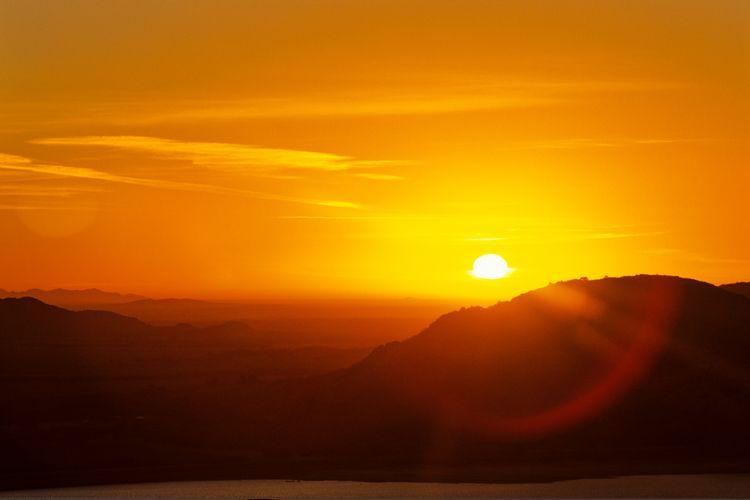 Quartz Mountain Sunrise