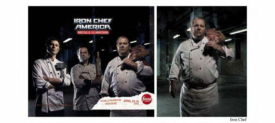 Simon Harsent . Iron Chef