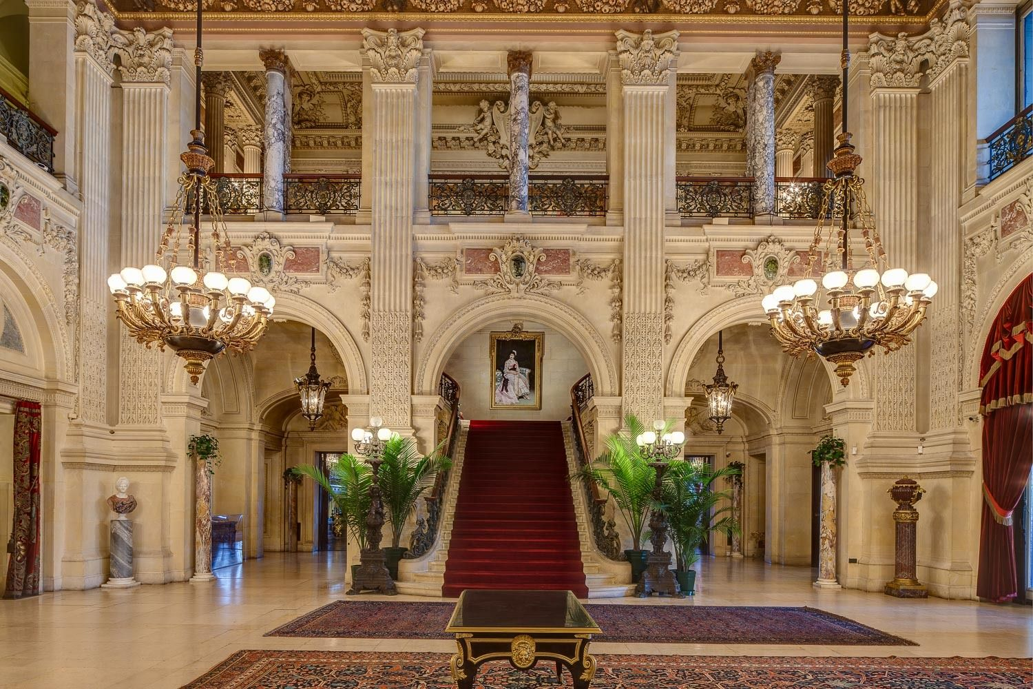 The Breakers Great Hall in the Italian Renaissance style