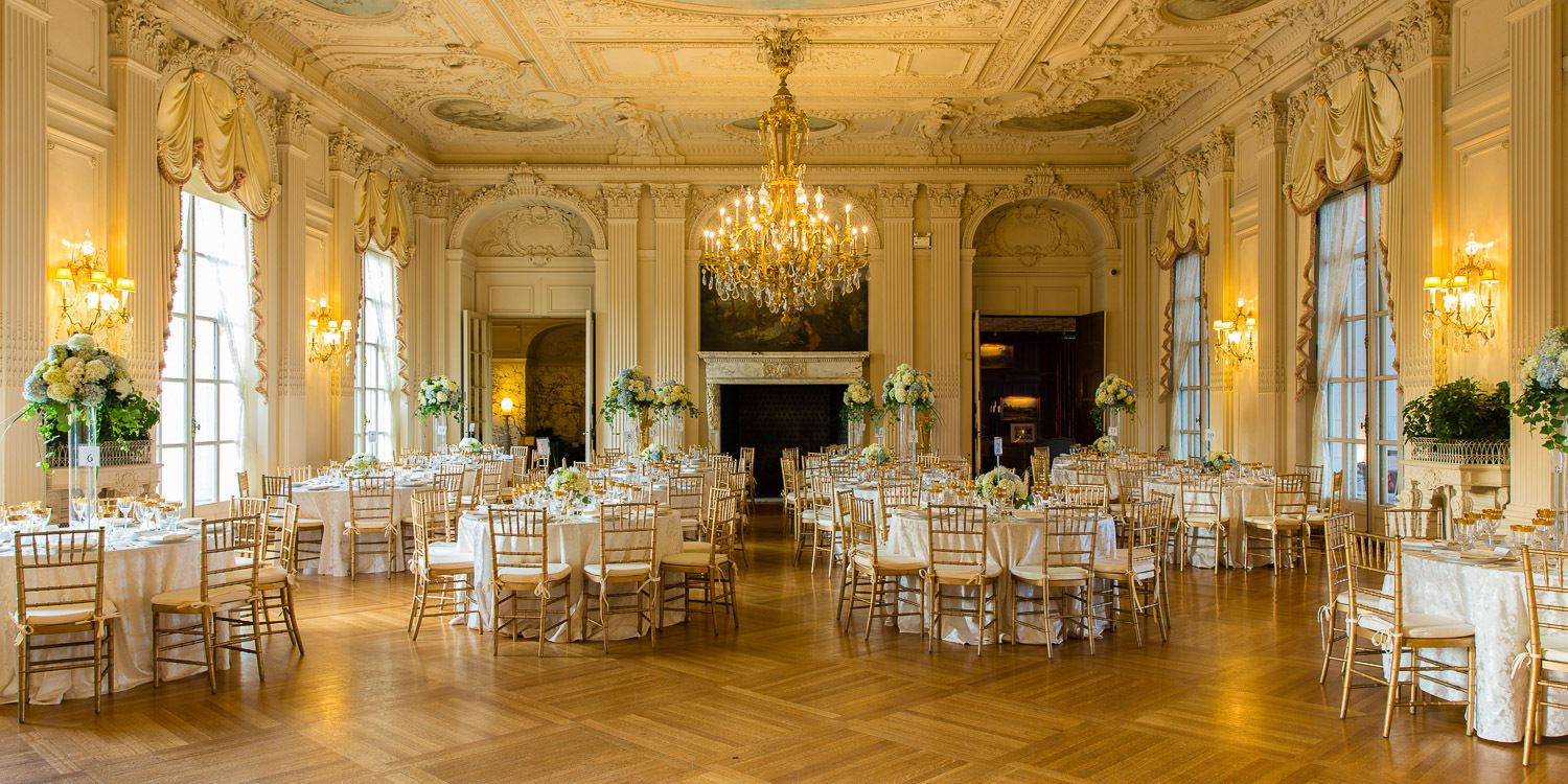 John Corbett architectural photography - Rosecliff mansion ballroom