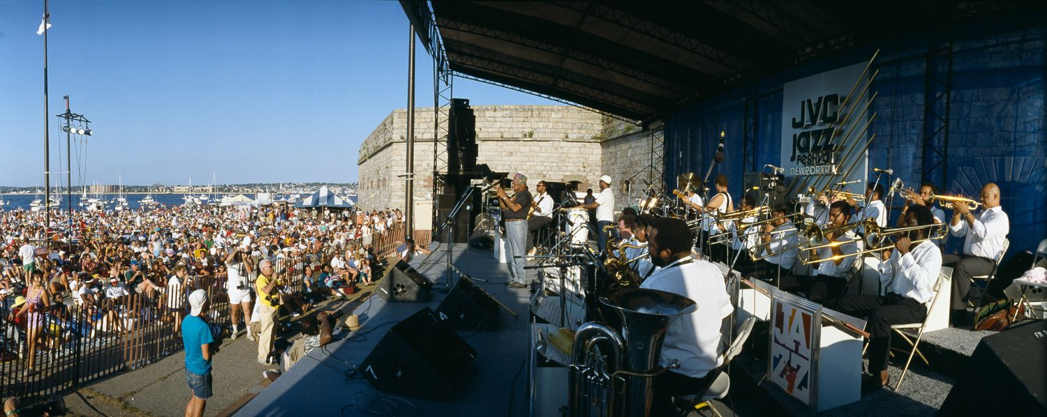 JVC Jazz Festival at Fort Adams, Newport, RI