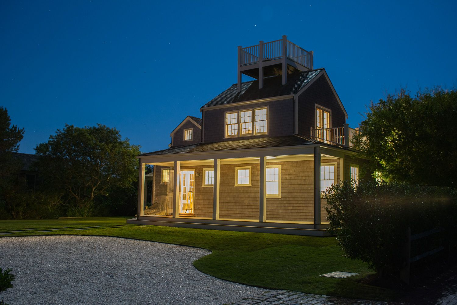 John Corbett architectural photography - Nantucket house exterior