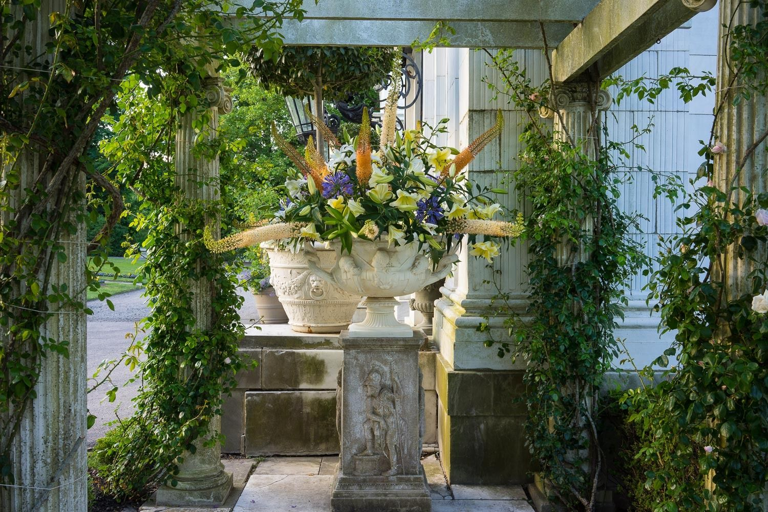 Newport Flower Show at Rosecliff