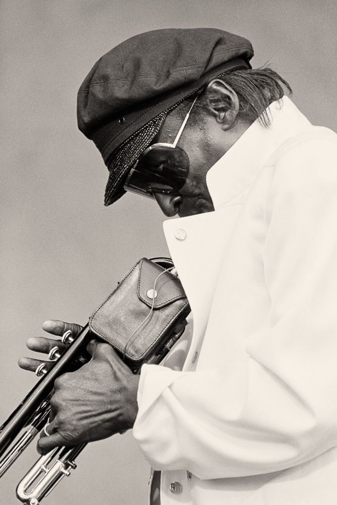 Miles Davis at Newport Jazz Festival