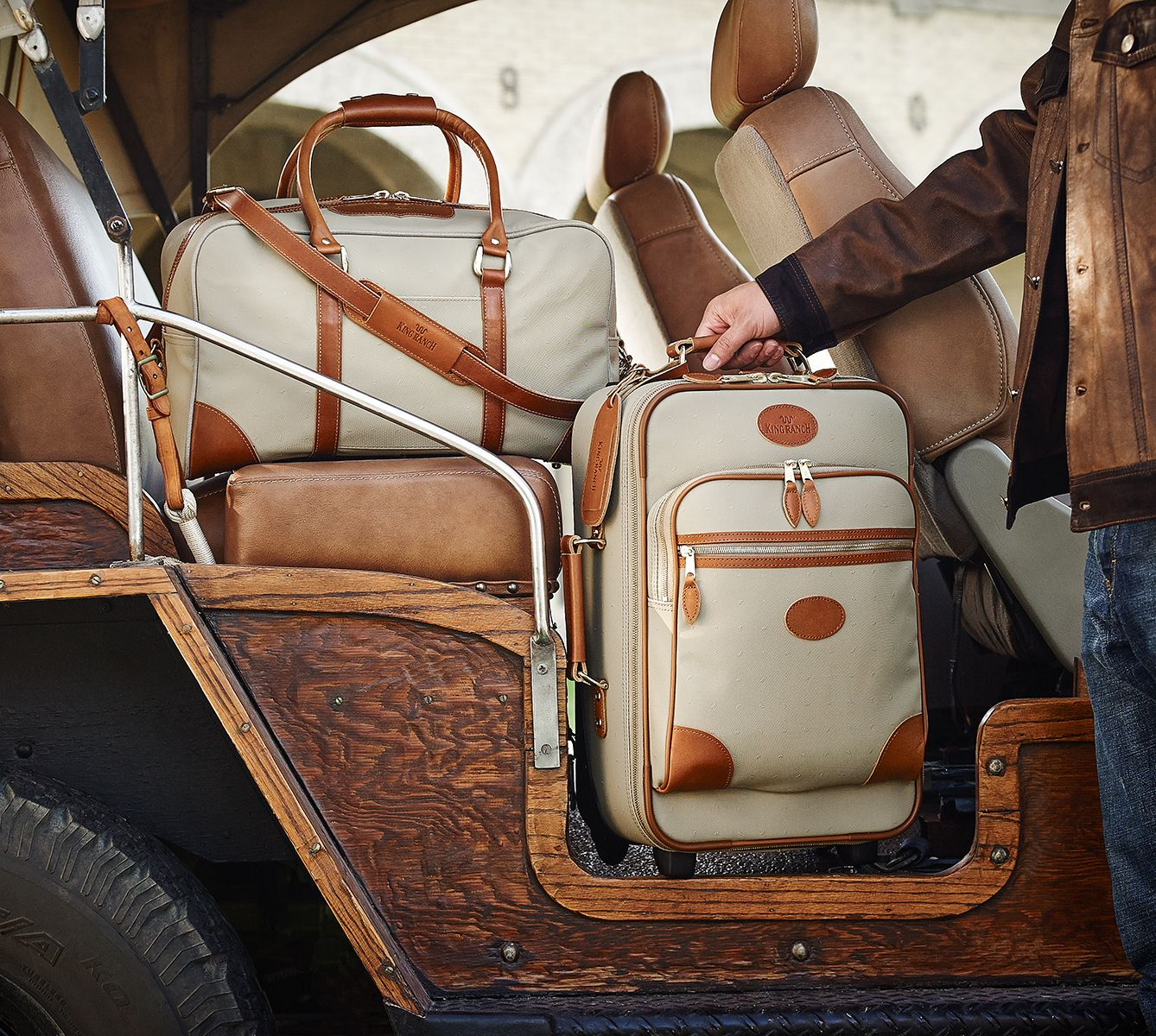 King Ranch Luggage