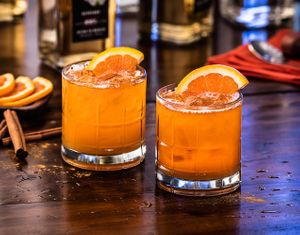 Pumpkin Crush Cocktail