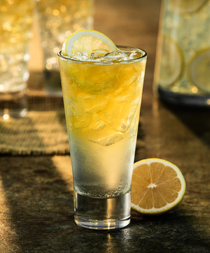 Lemon Agave Tequila Cocktail