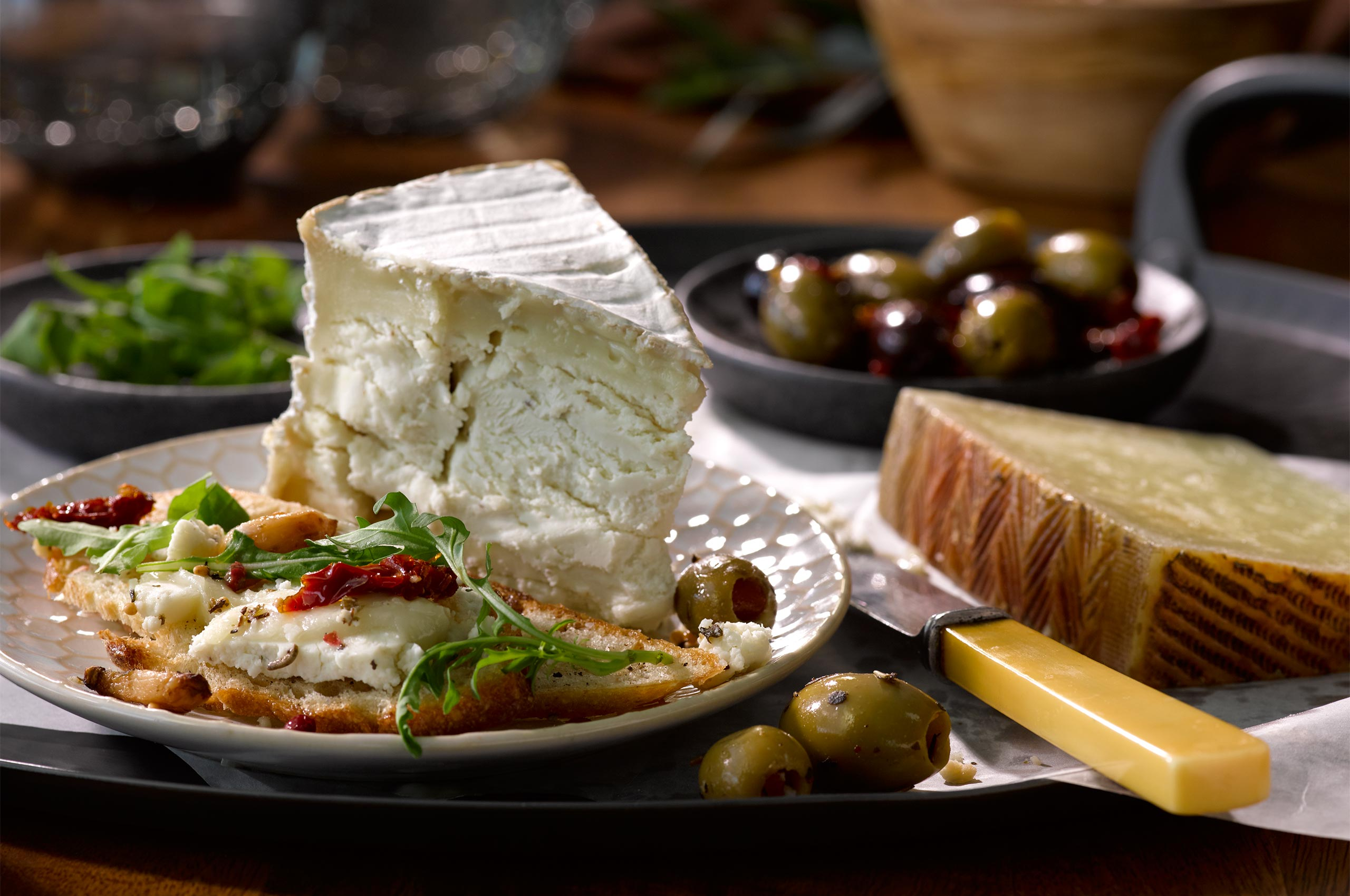 Cheese & Olive Plate