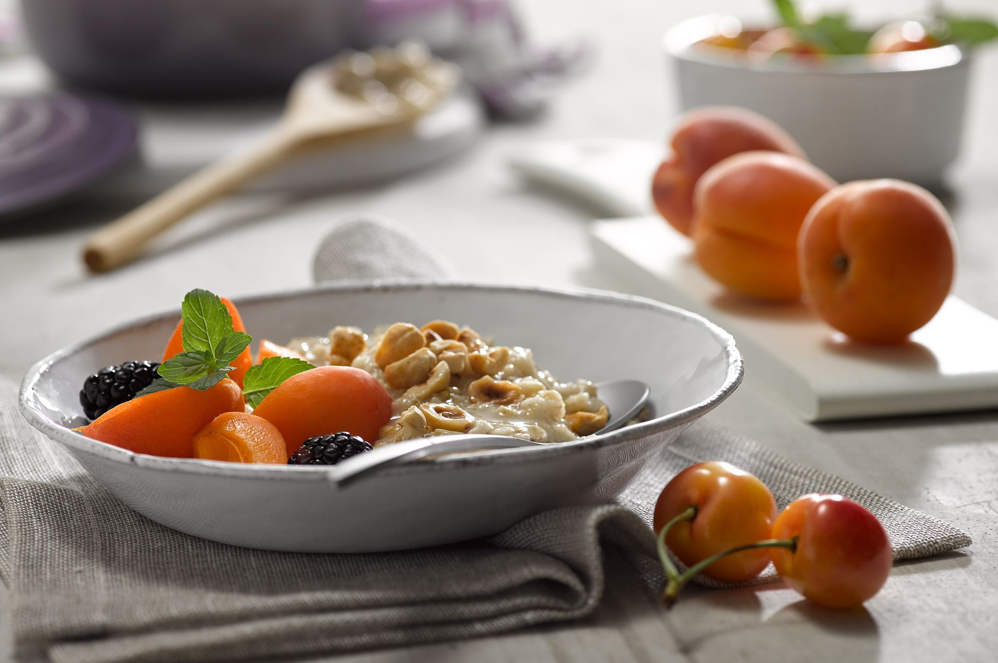 Oatmeal Apricots Nuts