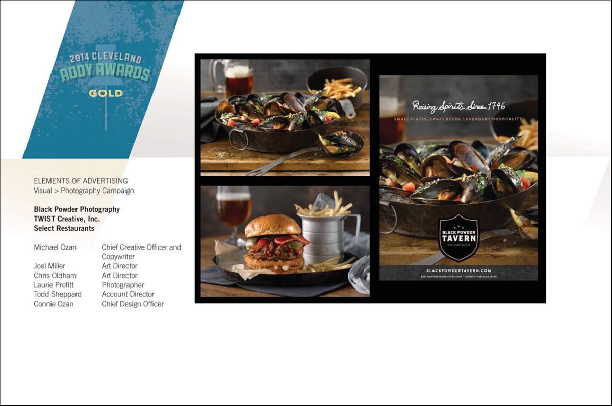 2014 Addy Awards Gold Cleveland