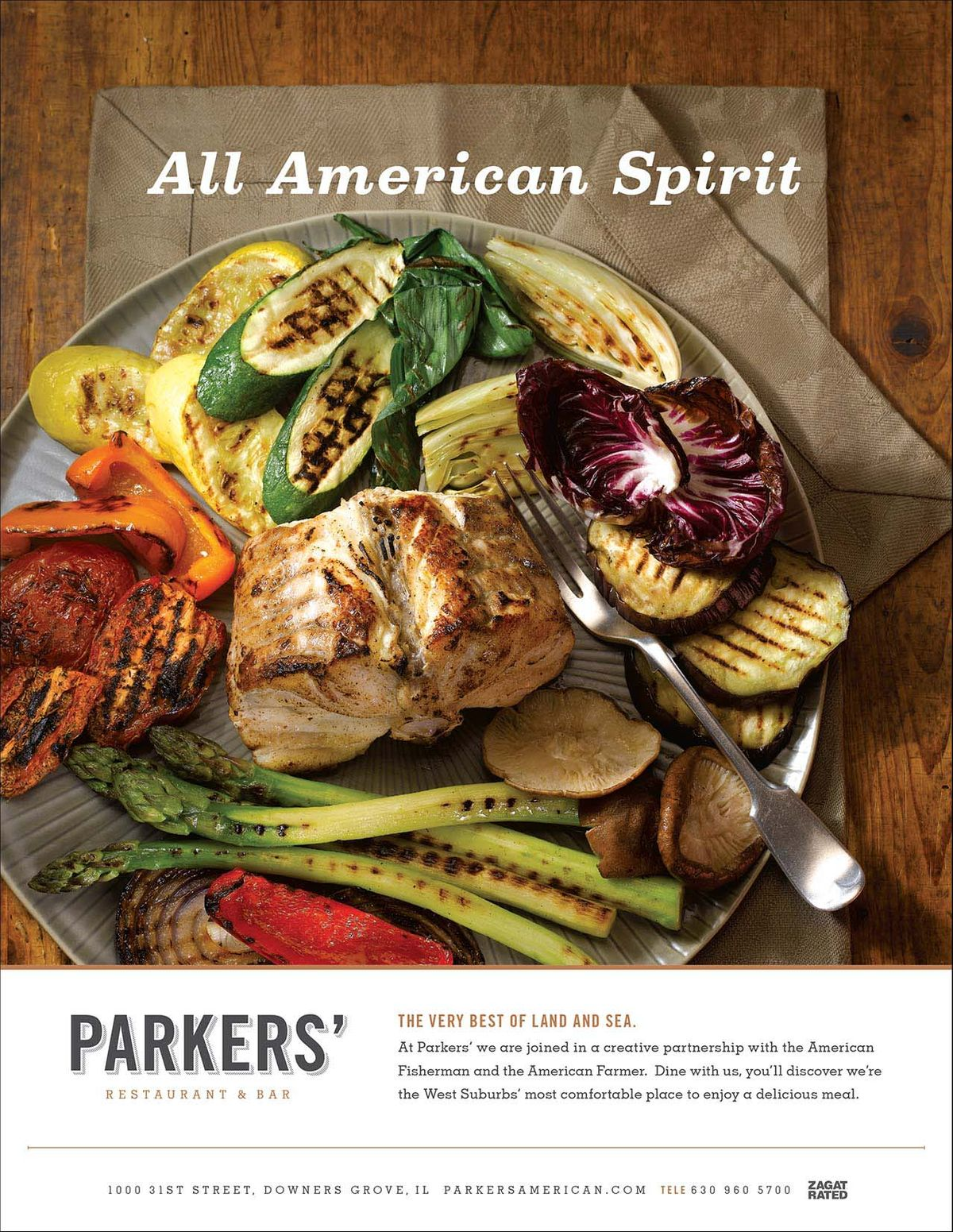 Parkers Monkfish Ad