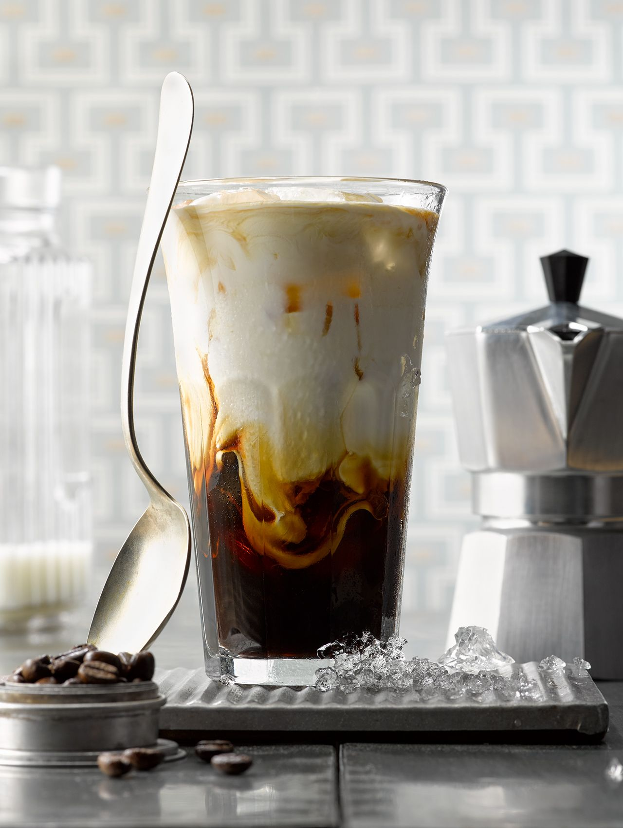 Cold Brewed Ice Coffee