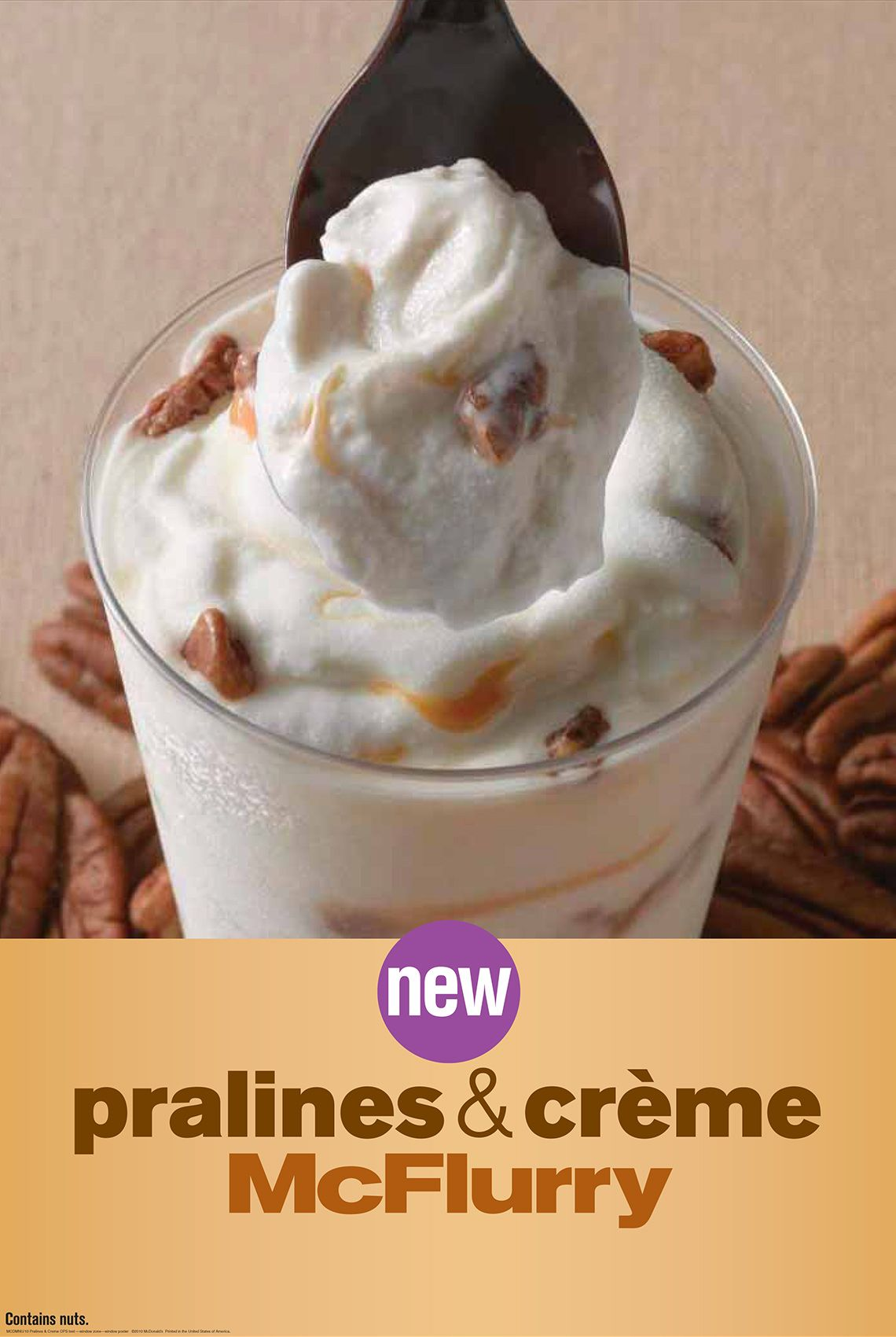 McDonalds Pralines Cream McFlurry Ad