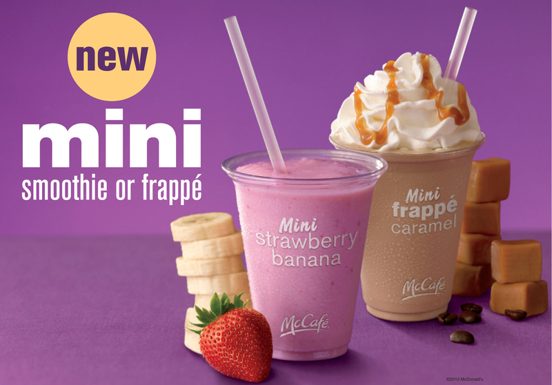 McDonalds Mini Smoothie Ad