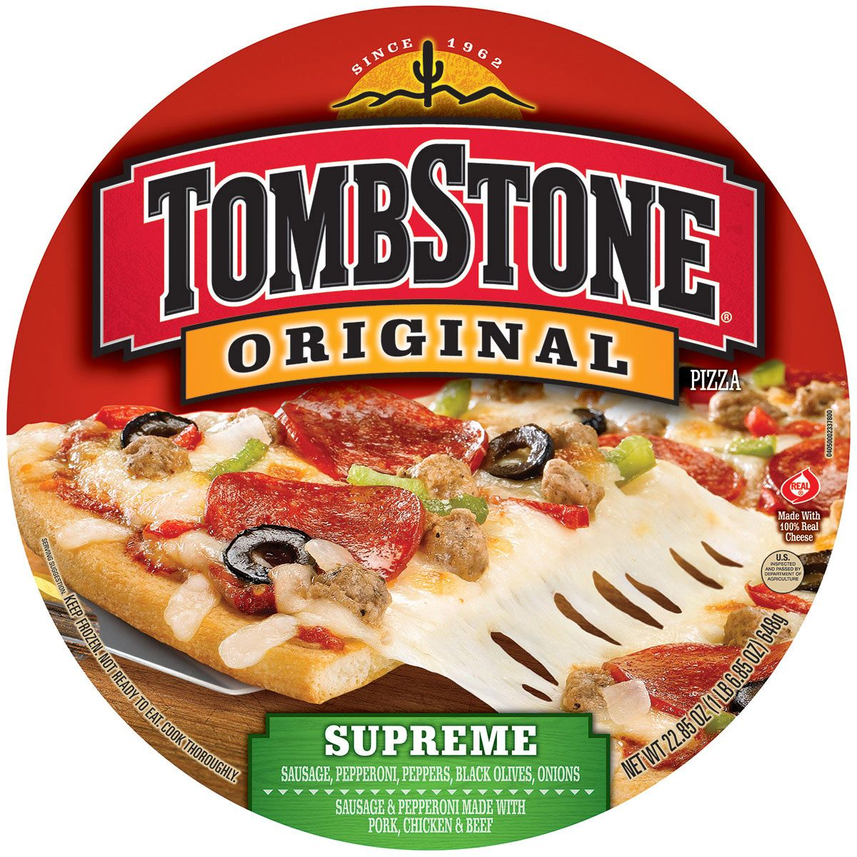 Tombstone Pizza Packaging