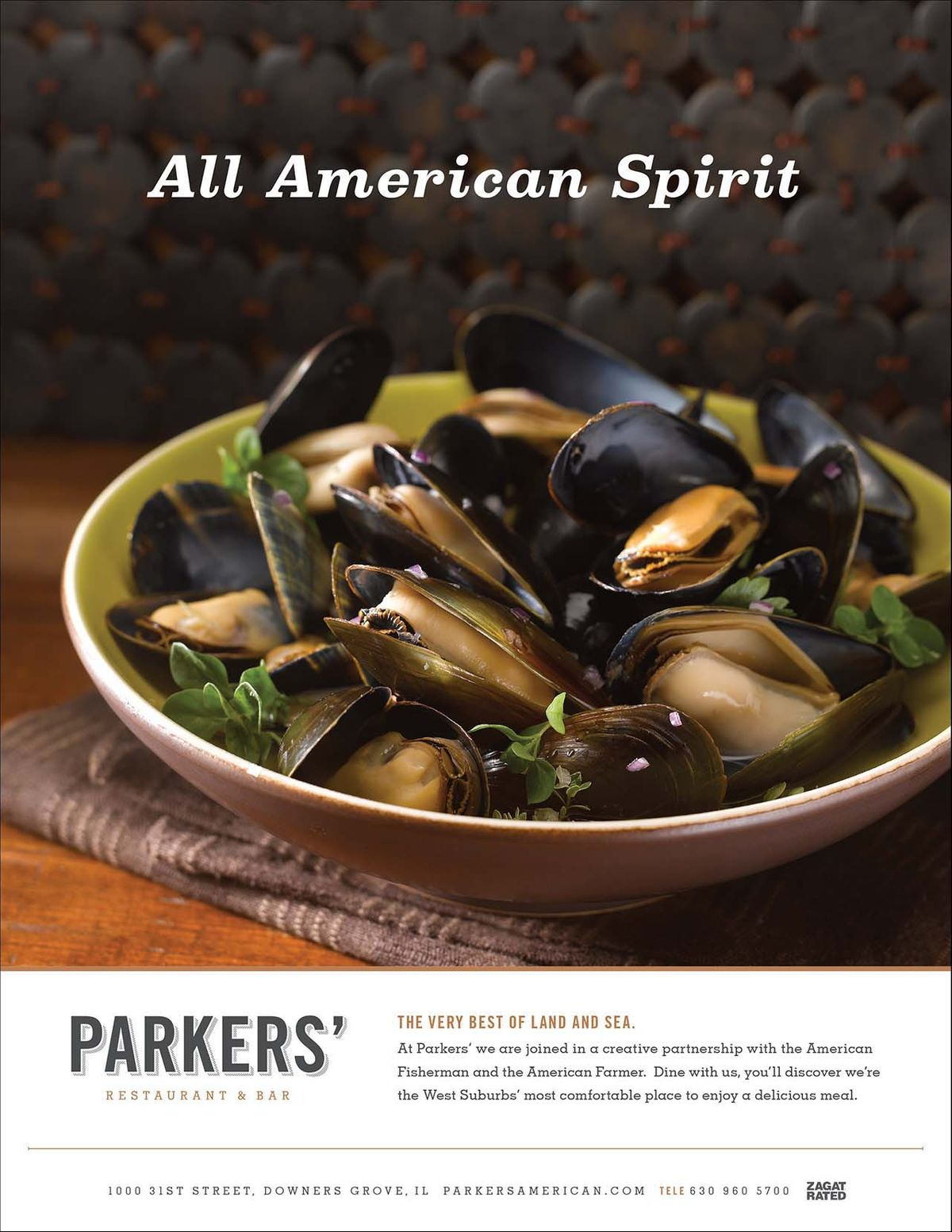 Parkers Mussels Ad