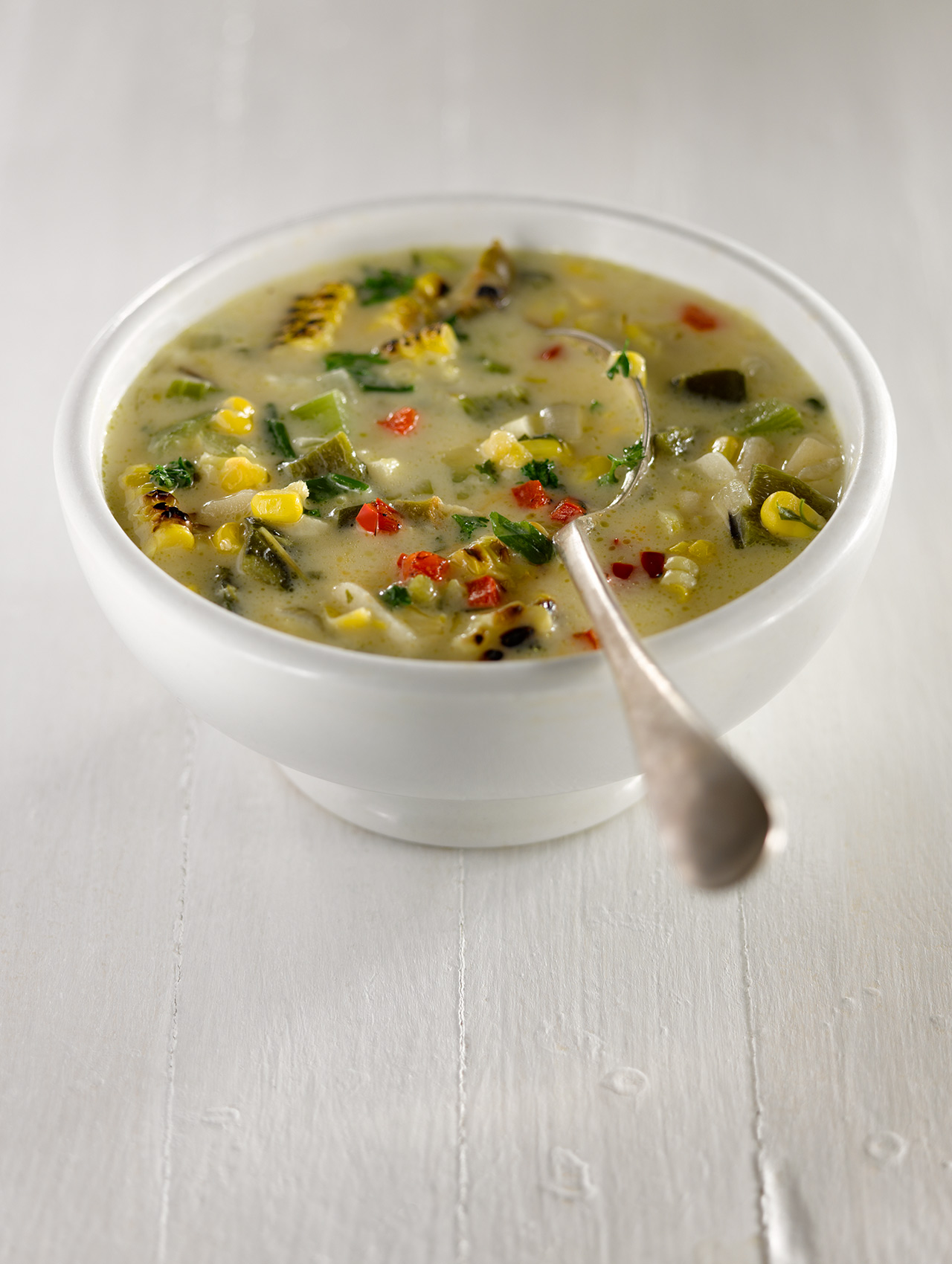 Charred Corn Chowder