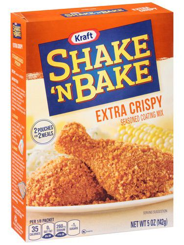 Shake 'N Bake Extra Crispy Packaging