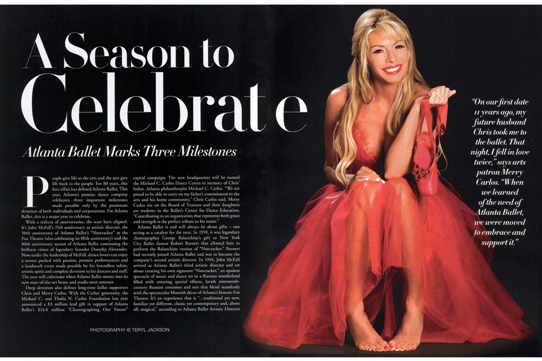 Southern Seasons magazine article