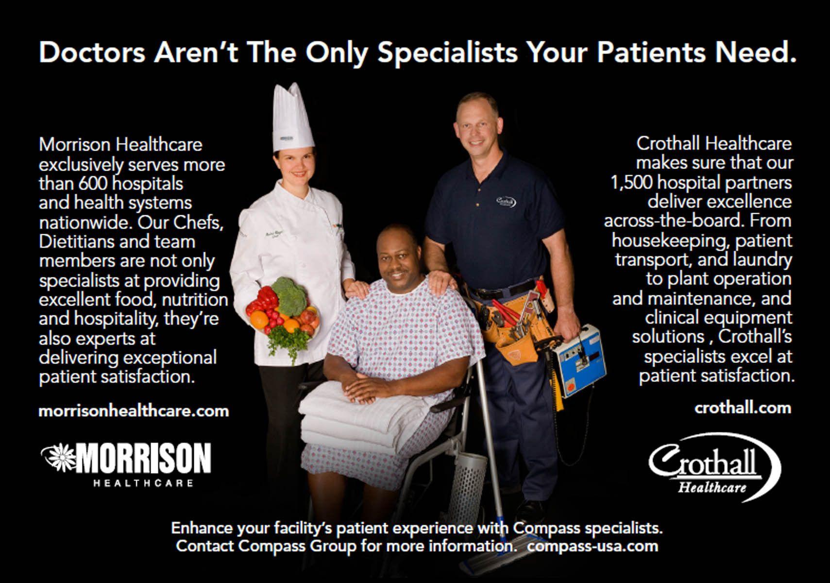 Morrison Healthcare ad
