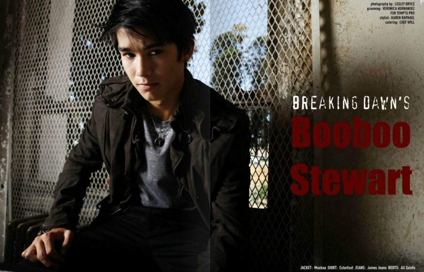 Breaking Dawn's Boo Boo Stewart