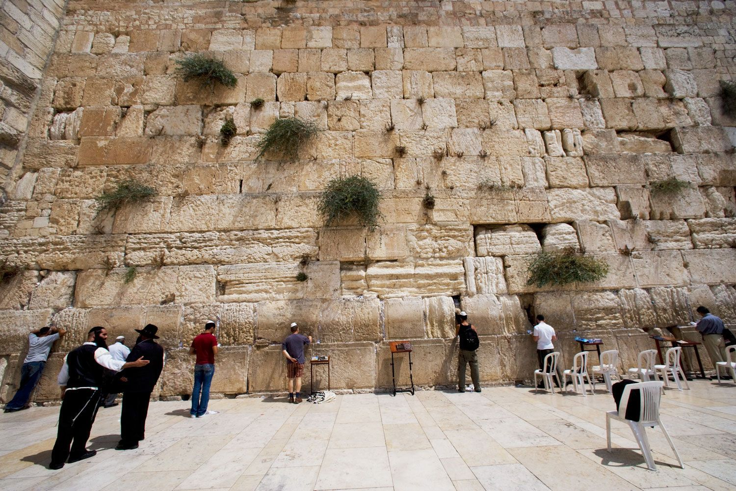 From the Wailing Wall