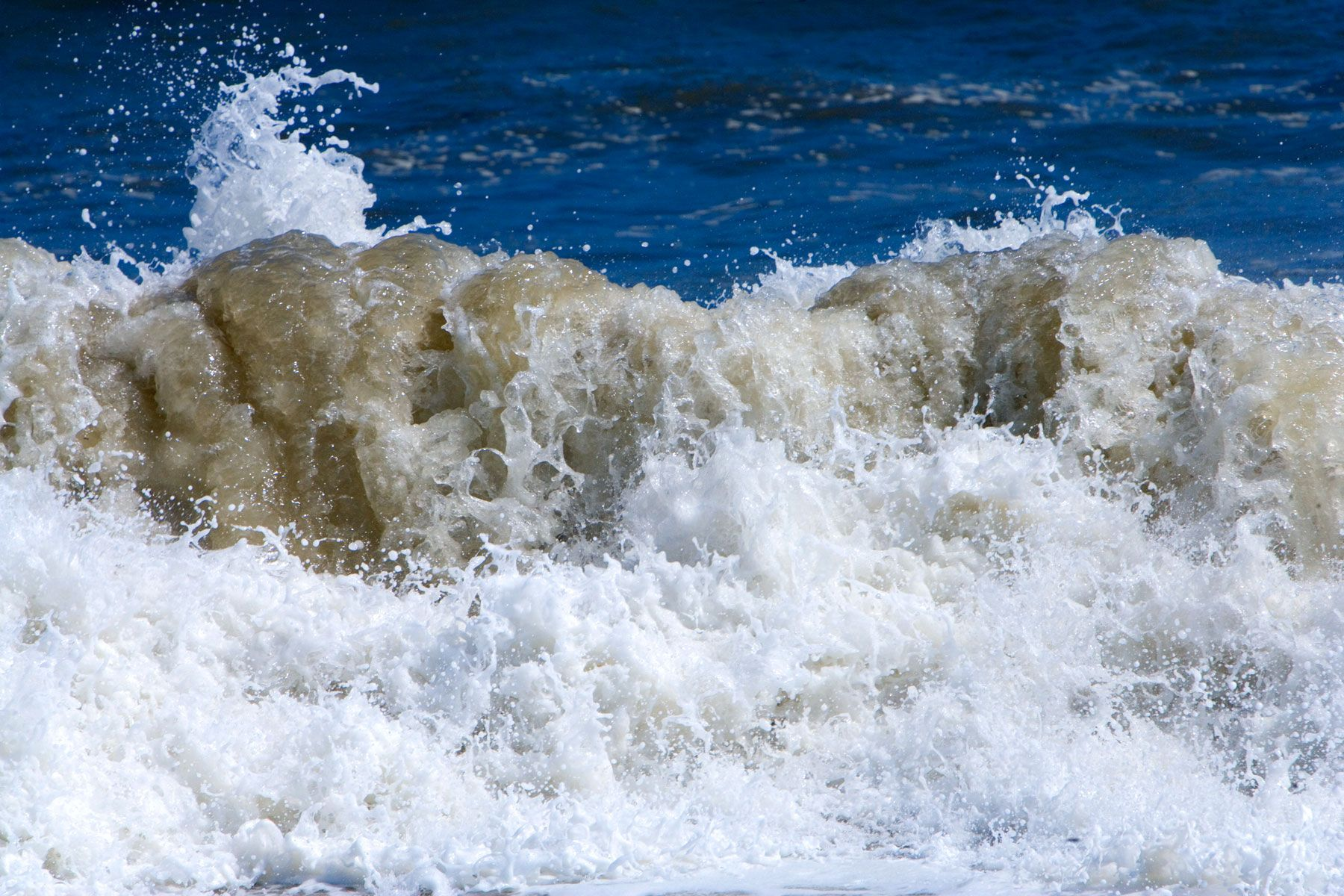 Splashing Atlantic Wave in Natural