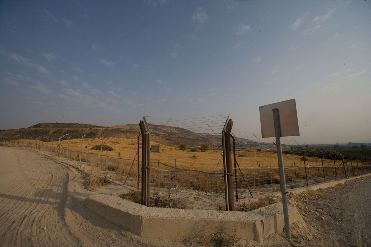 Syrian Israeli Border on the Golland Mountain I