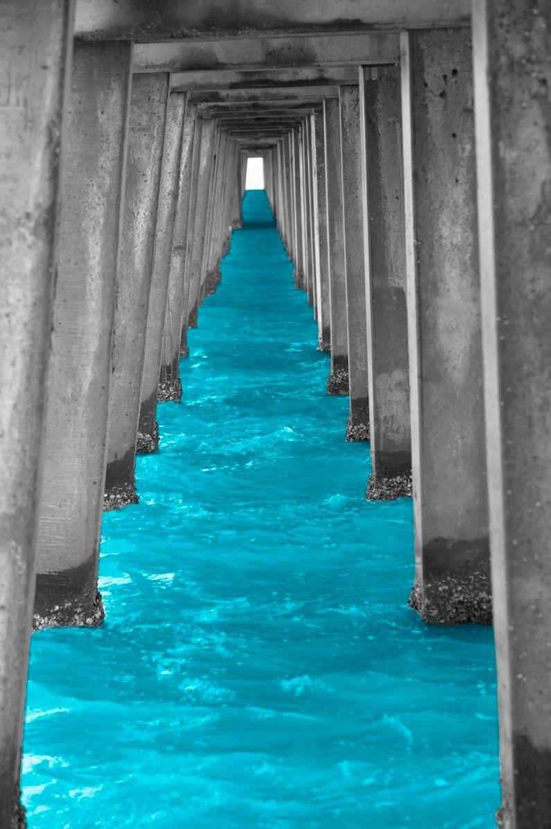 Turquoise Under the Bridge