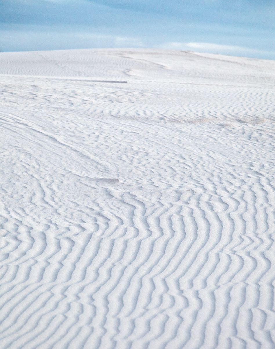 Sand Patterns II,I White Sands National Monument