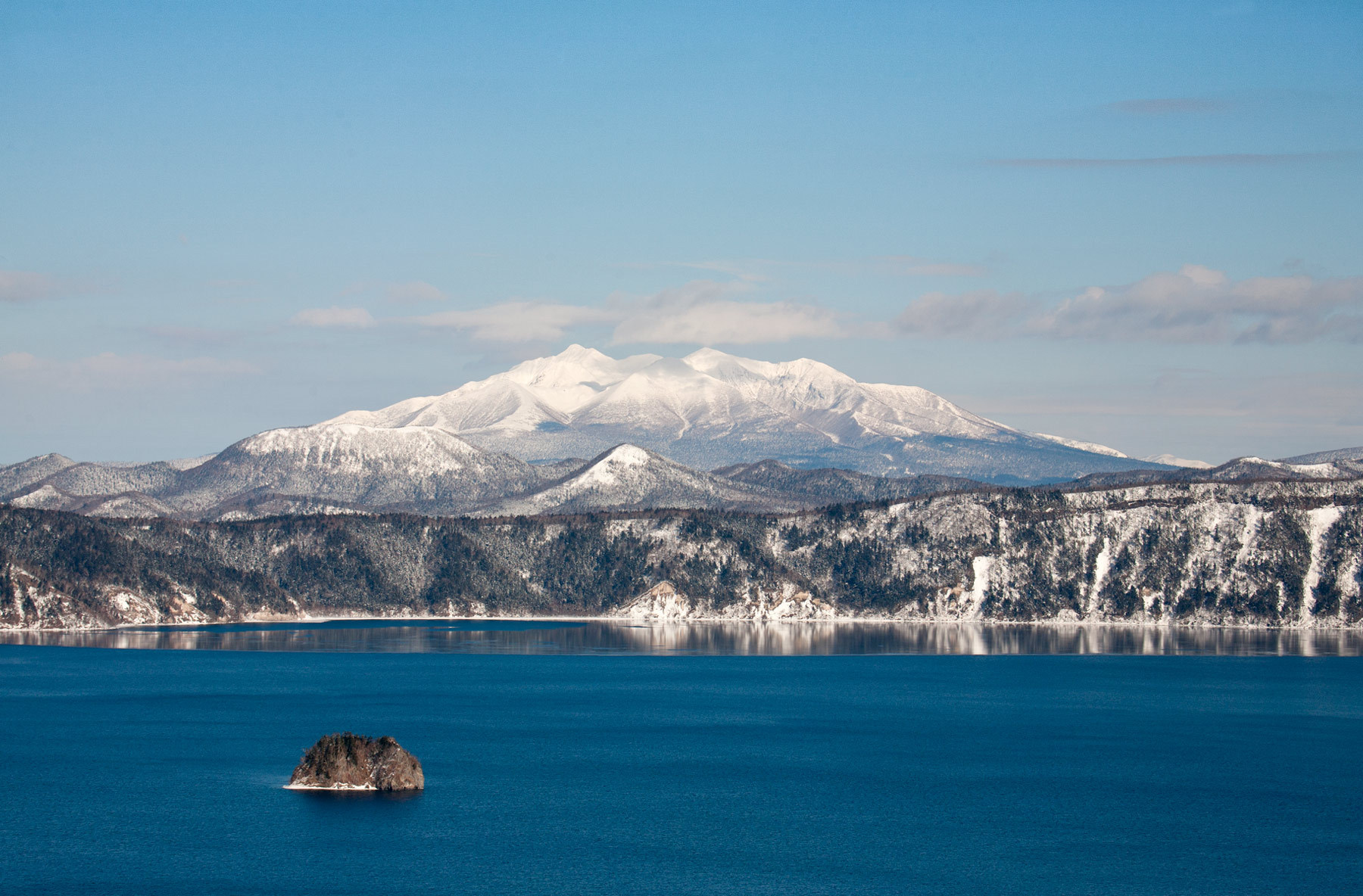 Lake Mashu, Akan National Park, Hokkaido, Japan