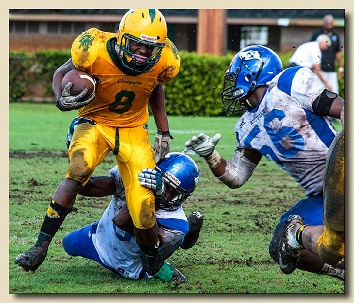 Jamal Burgess (8) Ball Carrier I