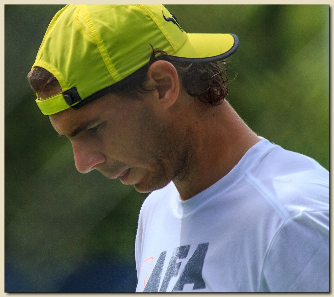 Rafa, Deep In Thought