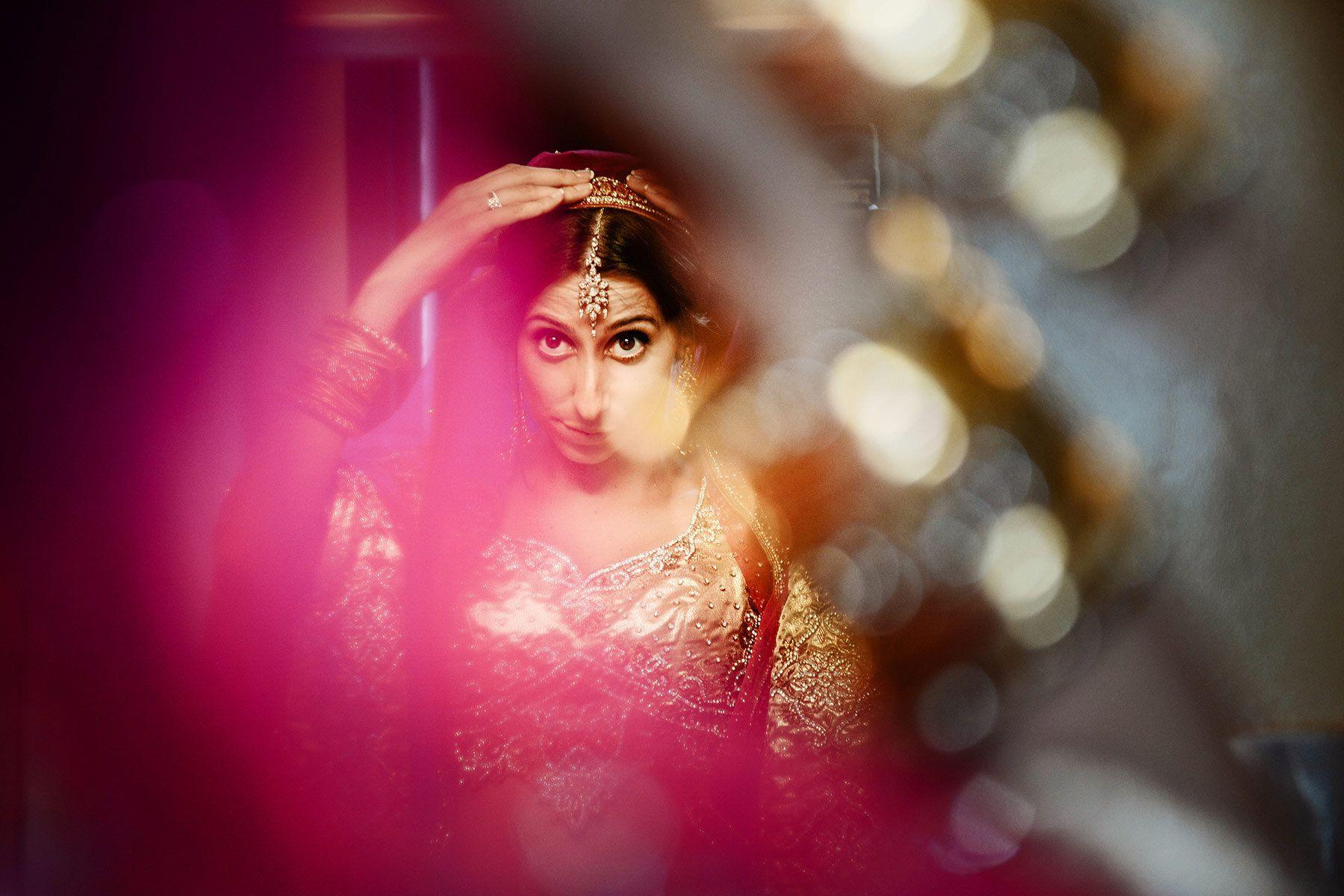 Montreal wedding photographer, bridal portrait