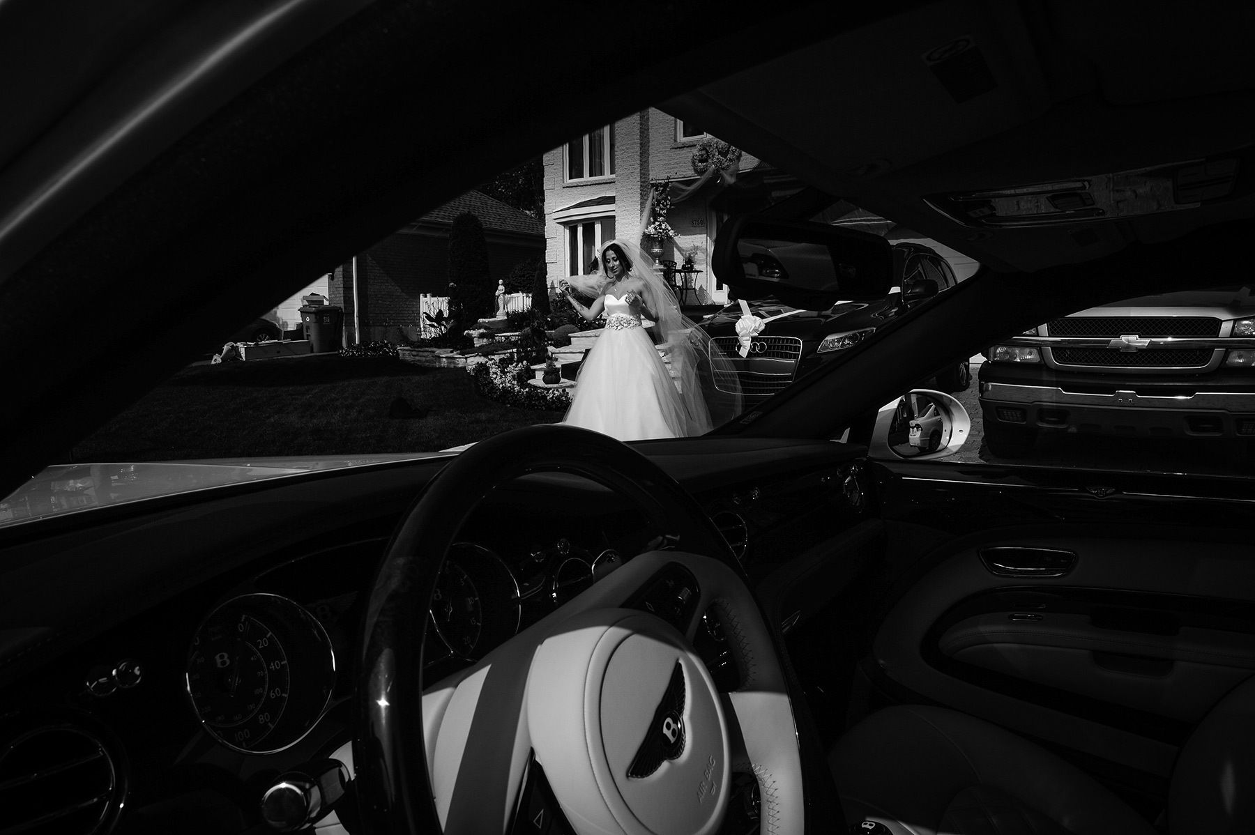 Montreal wedding photographer, beautiful bride