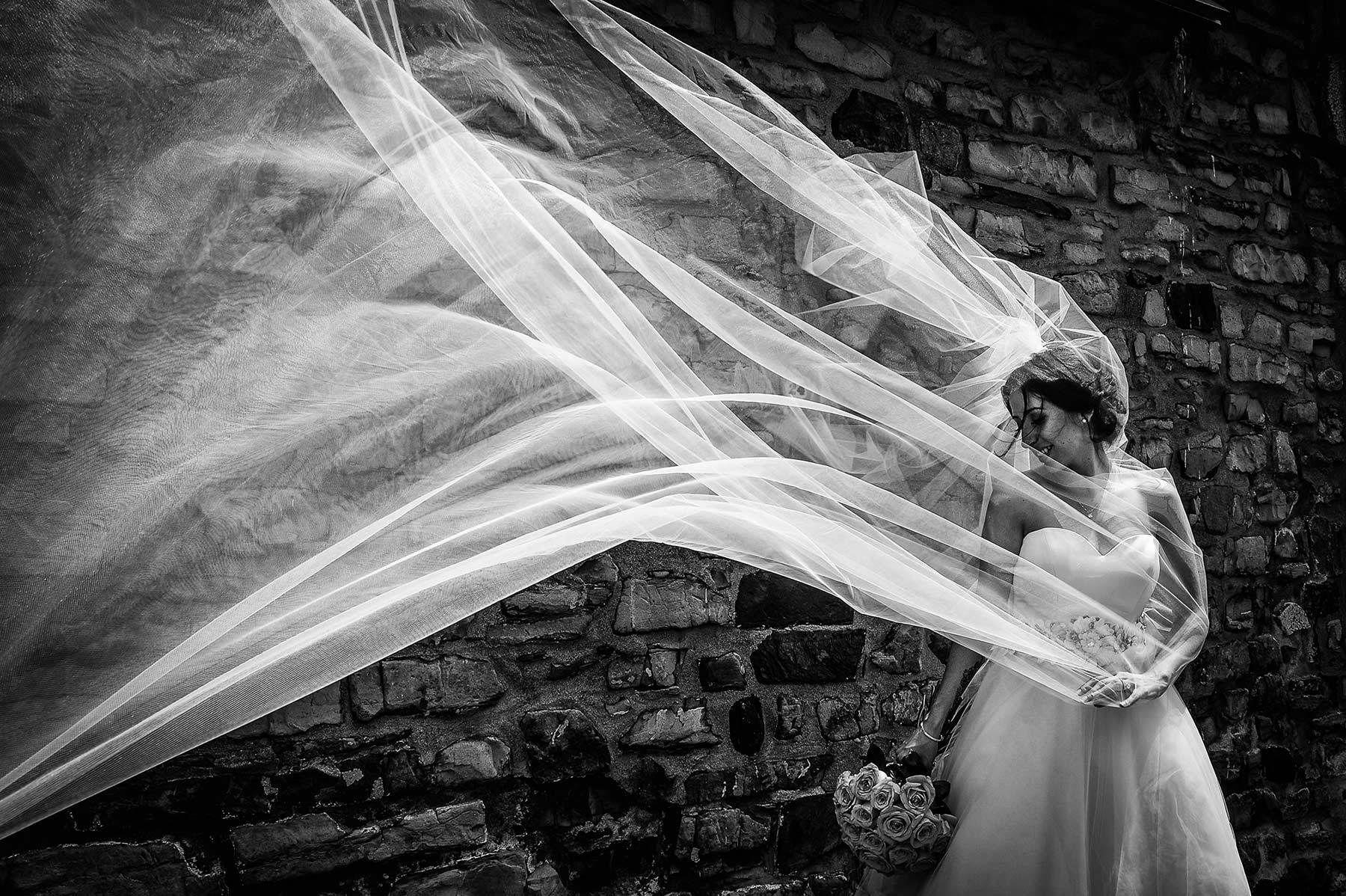 Montreal wedding photographer, bridal portrat