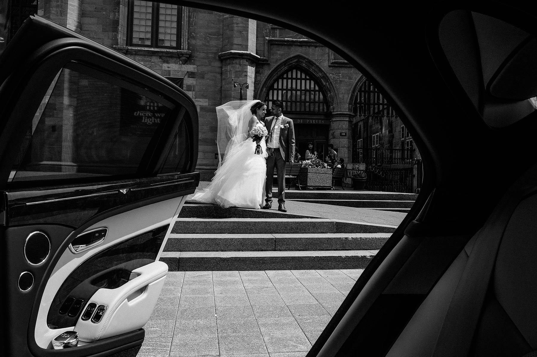 Montreal wedding photographer, bride and groom