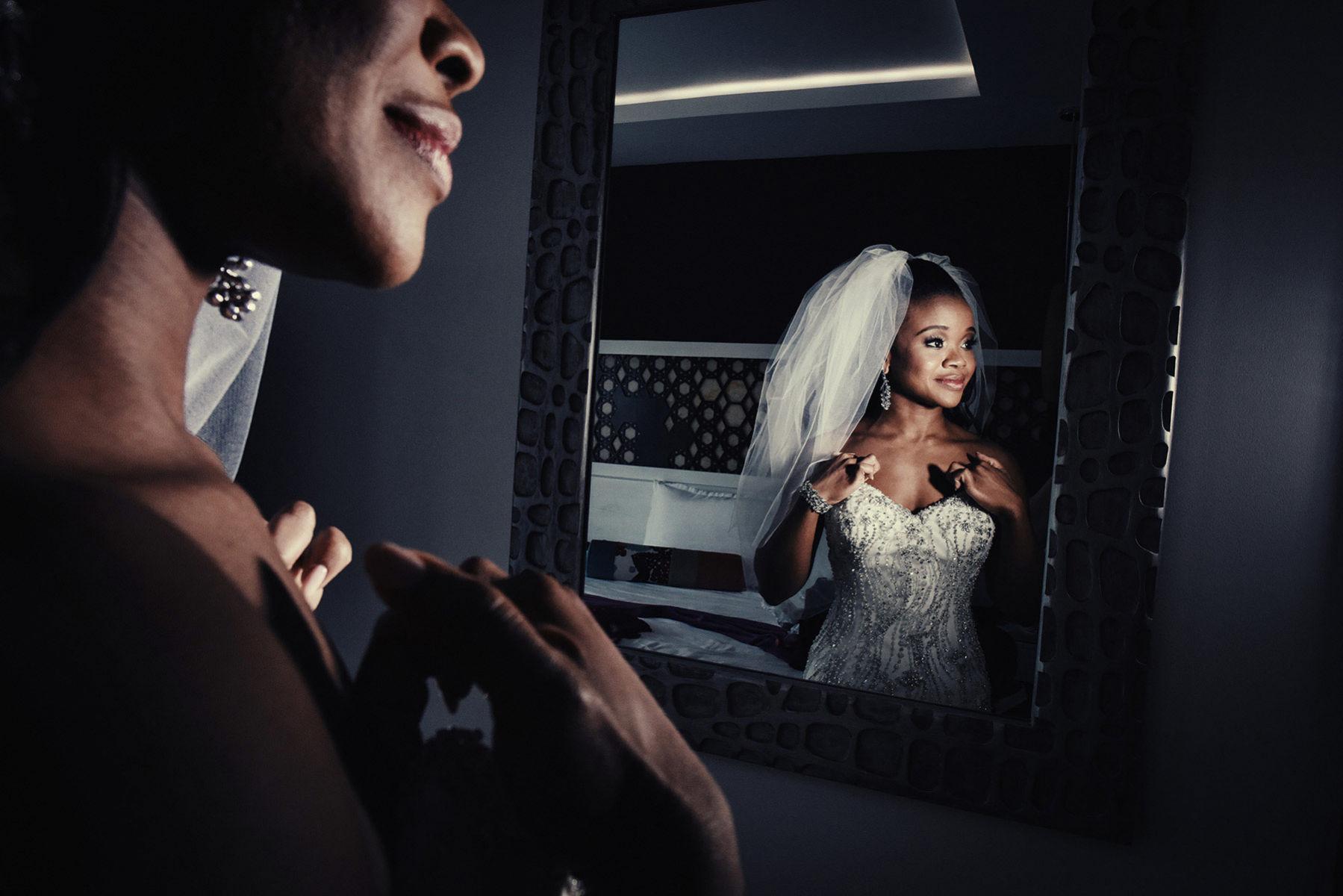 Montreal wedding photographer. bridal portrait