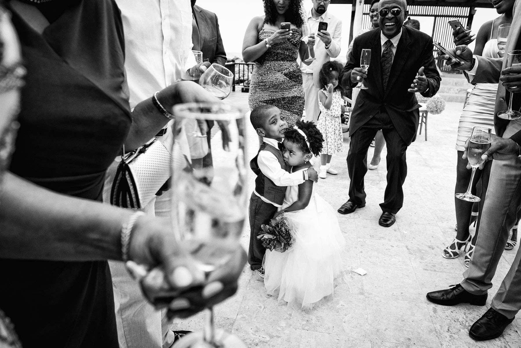 Wedding cocktail in Jamaica, destination wedding photographer