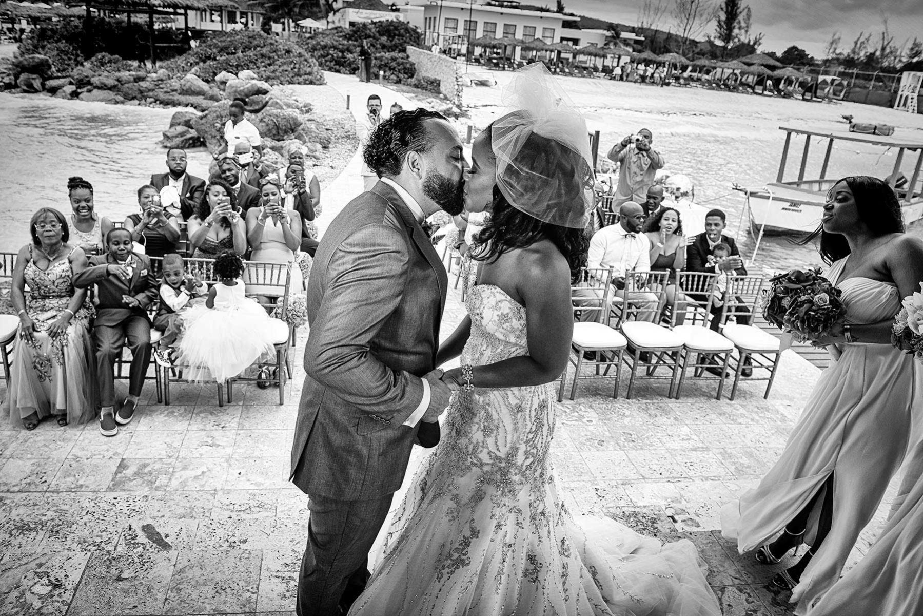 Wedding ceremony in Jamaica